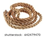 rope isolated on white... | Shutterstock . vector #642479470