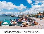 iskele  urla  izmir  turkey  ... | Shutterstock . vector #642484723