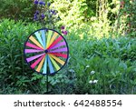 Colorful Round Pin Wheel...