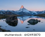Sunrise Over Matterhorn And...