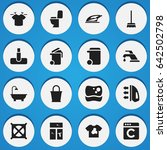 set of 16 editable hygiene...