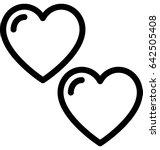 heart vector icon    Shutterstock .eps vector #642505408
