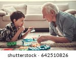 Grandpa And Grandson Are...