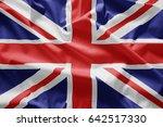 flag of uk | Shutterstock . vector #642517330