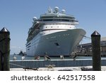 cruise ship majesty of the seas ... | Shutterstock . vector #642517558