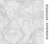 topographic map background... | Shutterstock .eps vector #642543418