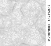 topographic map background... | Shutterstock .eps vector #642543643