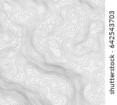 topographic map background... | Shutterstock .eps vector #642543703