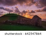 Old Chapel Ruin At Cape...