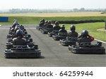 go cart start grid | Shutterstock . vector #64259944