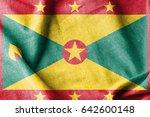 grenada cotton flag | Shutterstock . vector #642600148
