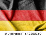 germany cotton flag | Shutterstock . vector #642600160