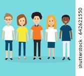 people in generation z ... | Shutterstock .eps vector #642621550