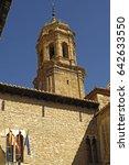 Small photo of TLa Asuncion church, Mosqueruela, Teruel province, Aragon, Spain