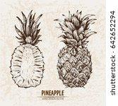 digital vector detailed line... | Shutterstock .eps vector #642652294