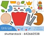 education paper game for... | Shutterstock .eps vector #642660538
