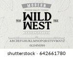 font.alphabet.script.typeface... | Shutterstock .eps vector #642661780