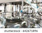 pharmaceutical equipment  ball... | Shutterstock . vector #642671896