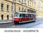 prague  czech republic   31... | Shutterstock . vector #642684676