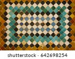 Colorful Tiles Of Alhambra...