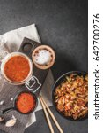 Asian Cuisine. Fermented Food....
