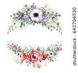 flower bouquets   Shutterstock . vector #642704530