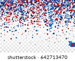 usa seamless festive design... | Shutterstock .eps vector #642713470