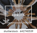 equality balance rights respect ... | Shutterstock . vector #642740539
