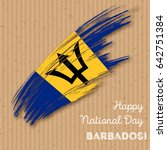 barbados independence day... | Shutterstock .eps vector #642751384