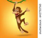 monkey | Shutterstock .eps vector #642753760