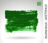 brush stroke and texture....   Shutterstock .eps vector #642755413