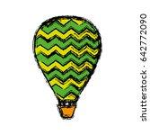 air balloon icon | Shutterstock .eps vector #642772090
