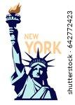 Statue Of Liberty. New York...