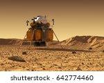 descent module of... | Shutterstock . vector #642774460