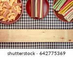 a group of dog treats  dog food ... | Shutterstock . vector #642775369