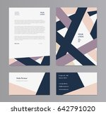 business vector template.... | Shutterstock .eps vector #642791020