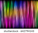 colorful background with neon... | Shutterstock .eps vector #642794143