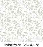 the floral pattern. seamless... | Shutterstock .eps vector #642803620