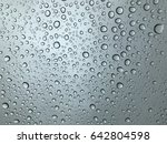 close up of water drops from... | Shutterstock . vector #642804598
