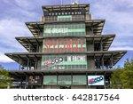 indianapolis   circa may 2017 ... | Shutterstock . vector #642817564