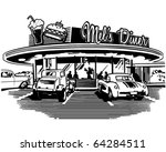 retro diner   retro clipart... | Shutterstock .eps vector #64284511