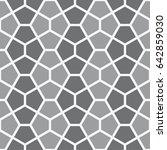 vector seamless pattern. modern ... | Shutterstock .eps vector #642859030