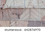 roof made from dried leaf....   Shutterstock . vector #642876970