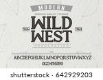 font.alphabet.script.typeface... | Shutterstock .eps vector #642929203