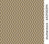geometric abstract vector... | Shutterstock .eps vector #642930394