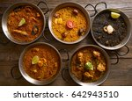 paellas five rice recipes from... | Shutterstock . vector #642943510