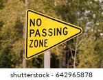a reflective sign bolted to a... | Shutterstock . vector #642965878