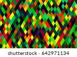 dark multicolor  rainbow vector ... | Shutterstock .eps vector #642971134