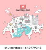 Switzerland Travel Landmark...
