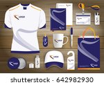 gift items  color promotional... | Shutterstock .eps vector #642982930